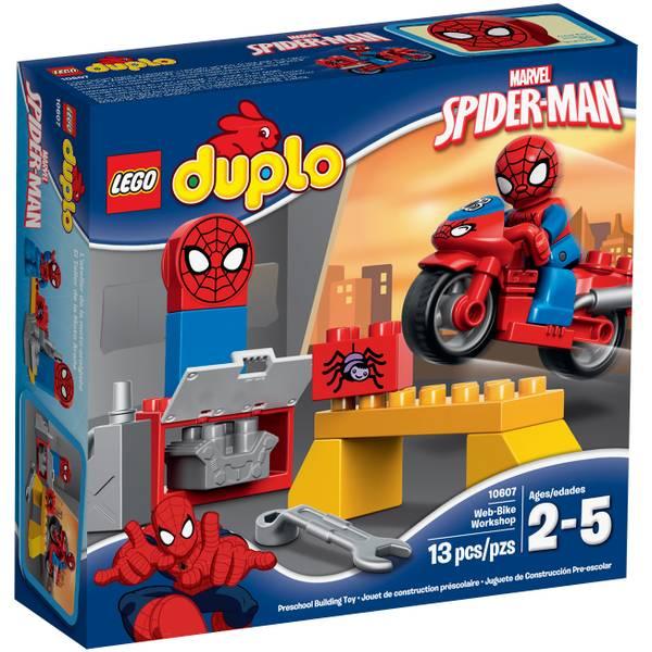 DUPLO Super Heroes Spider-Man Web-Bike Workshop