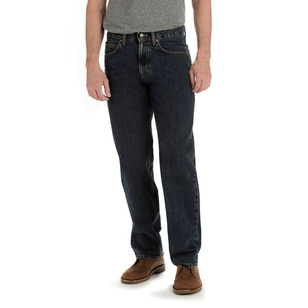 Men's Relaxed Fit Straight Jeans