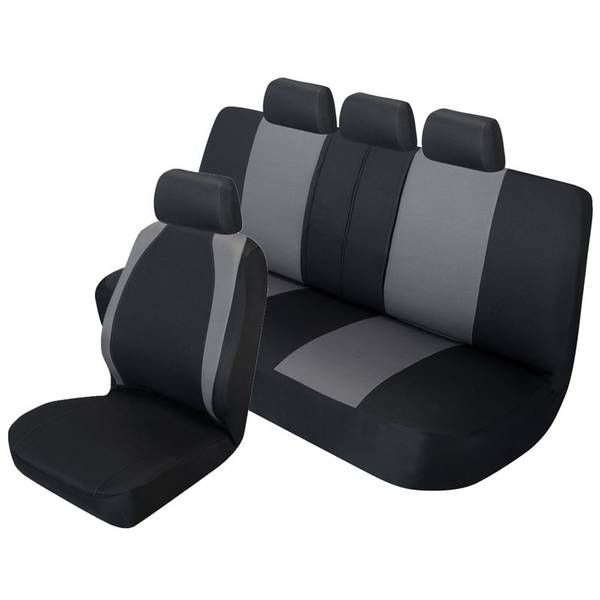 Tucson 3-Piece Black Seat Cover Kit