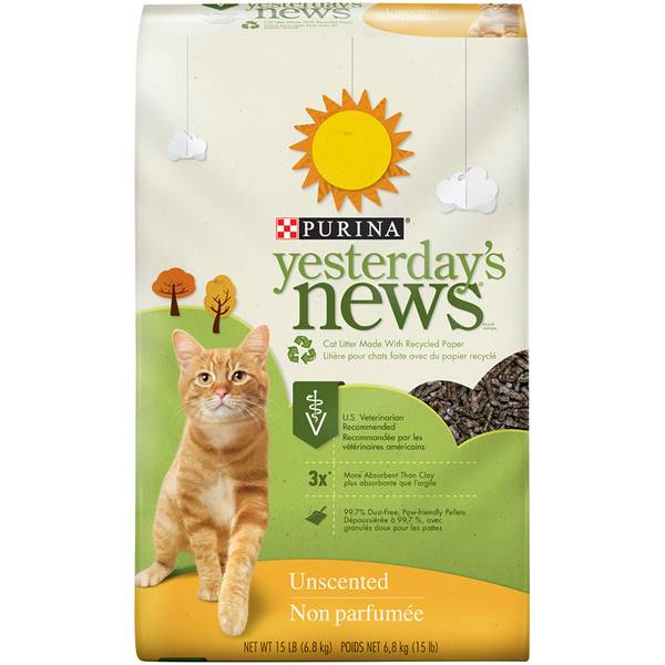 Yesterday's News Original Cat Litter