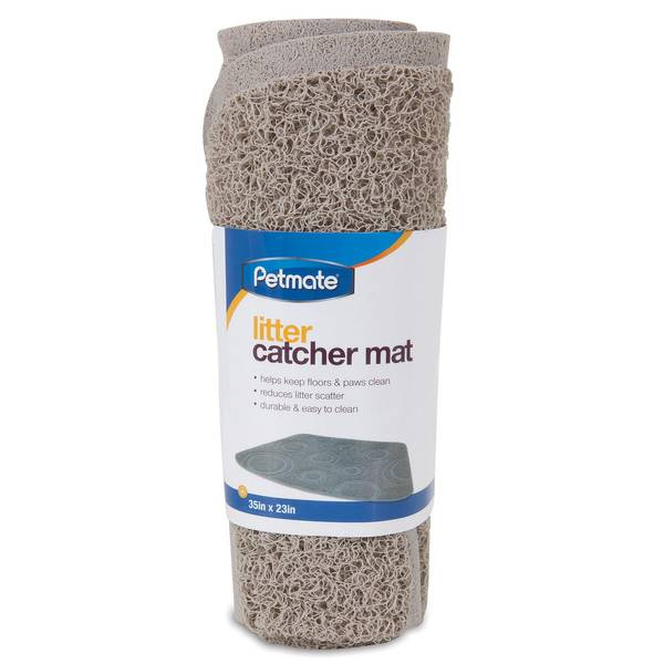Wedge Circle Litter Catcher Mat