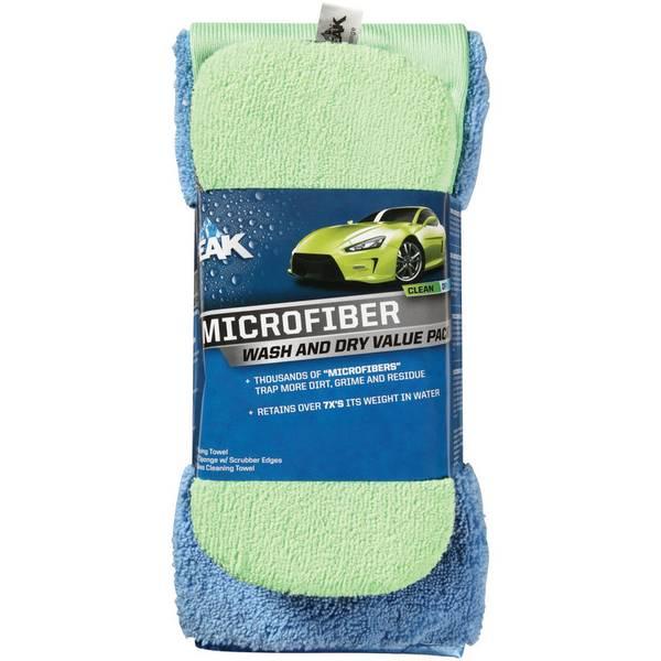 Microfiber Wash & Dry Detailing Value Pack