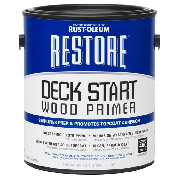 rust oleum restore deck start wood primer. Black Bedroom Furniture Sets. Home Design Ideas