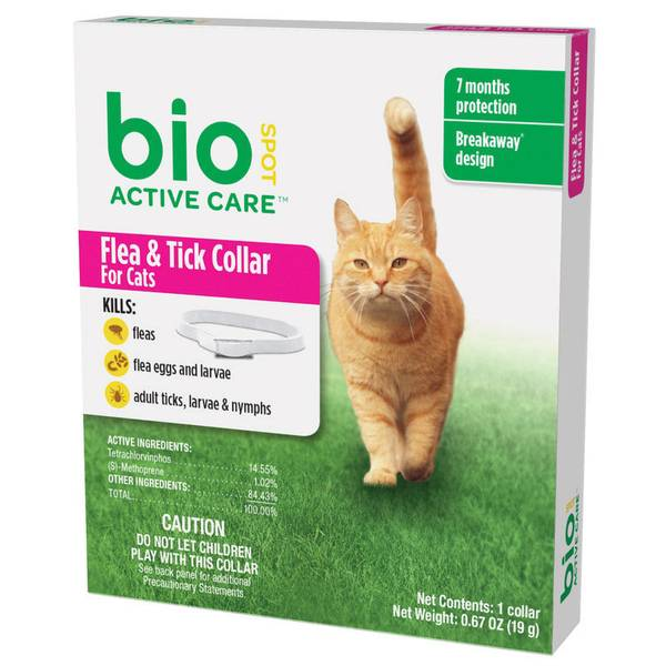 Active Care Flea and Tick Collar for Cats