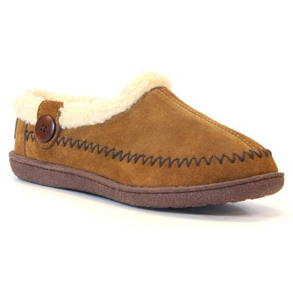 Women's Wheat Brown Soothe Suede Slippers