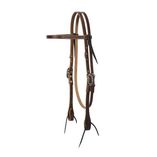 Sunset Harness Leather Browband Headstall