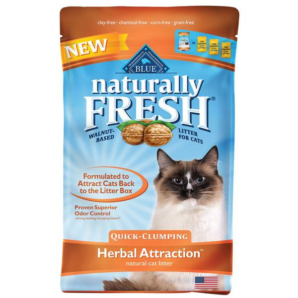 Blue Naturally Fresh Herbal Attraction Quick-Clumping Cat Litter