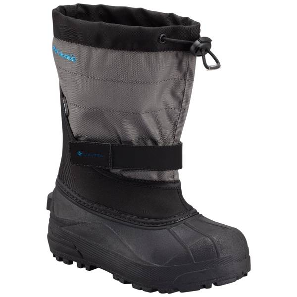 Boys' Black Powderbug Plus II Snow Boots