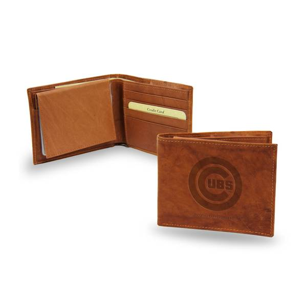 Chicago Cubs Embossed Billfold Wallet