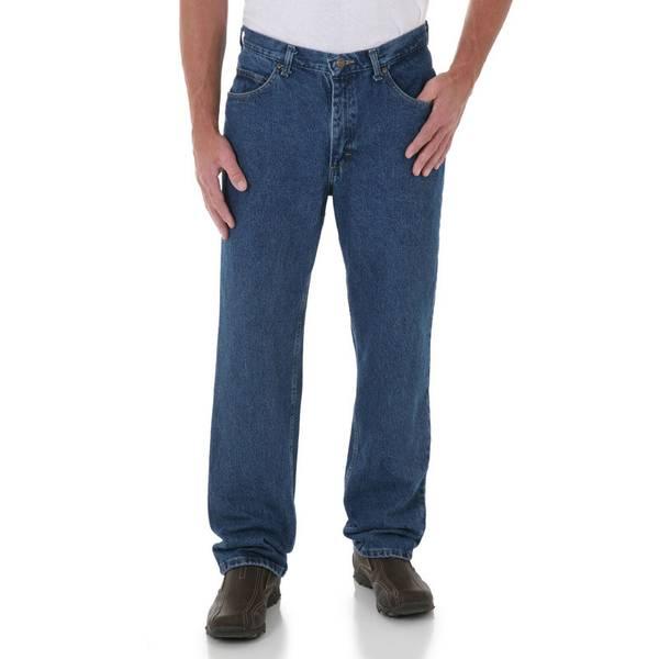 mens flex dark authentics comforter jean men wrangler stonewash waist product comfort waistband s