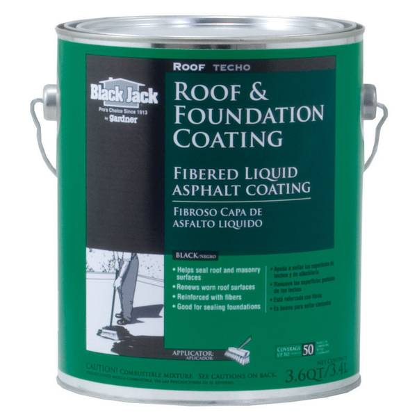 Fibered Roof & Foundation Coating