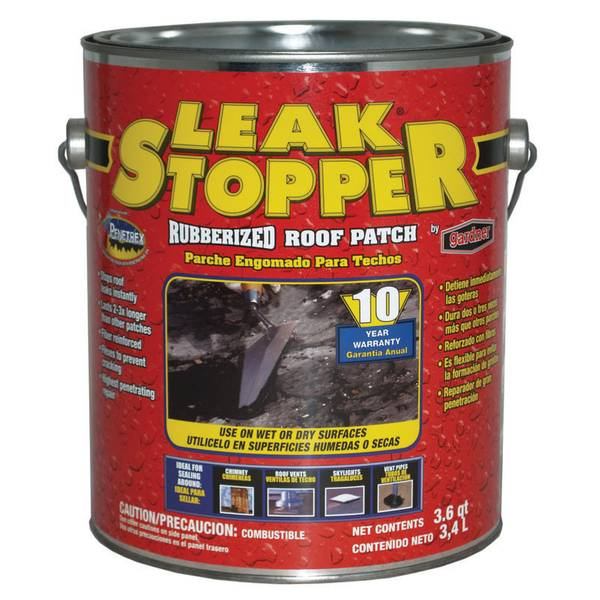 Leak Stopper Rubberized Roof Patch
