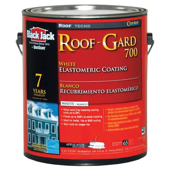Roof-Gard 700 White Elastomeric Roof Coating