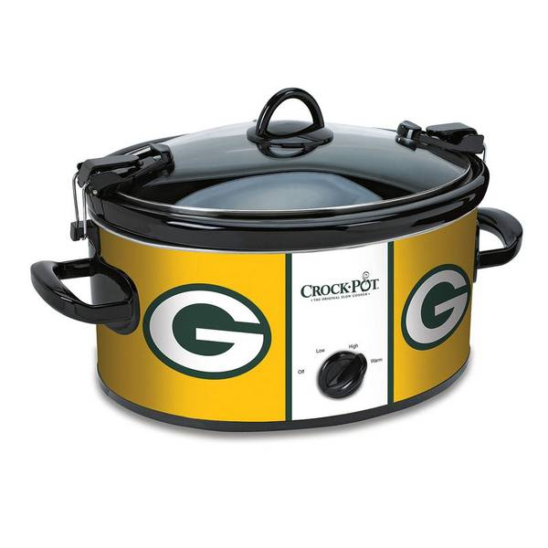 Crock Pot Green Bay Packers Cook & Carry Slow Cooker at Blain's ...