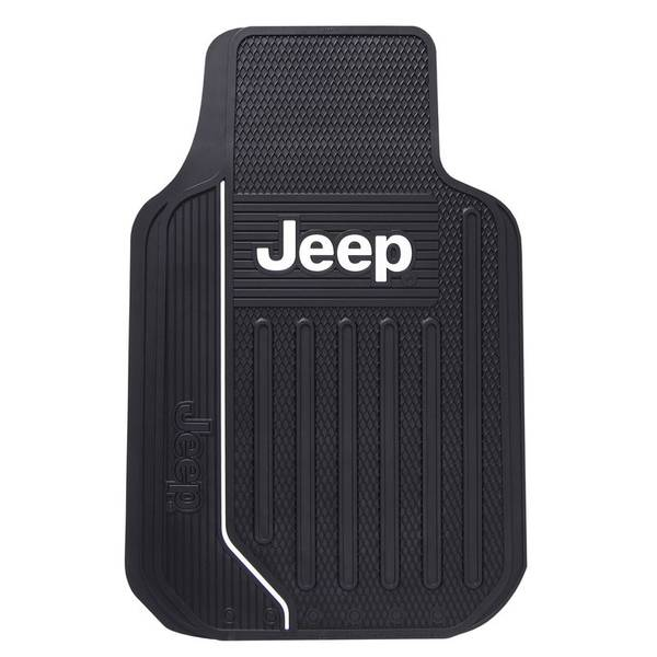 Jeep Elite Black Universal Car Floor Mat