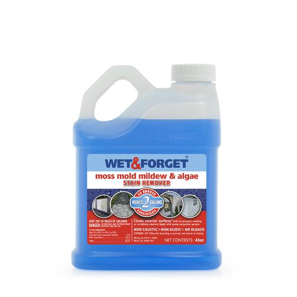 Wet Forget Moss Mold Mildew Algae Stain Remover