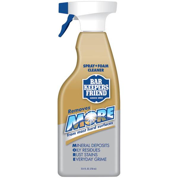 bar keepers friend spray foam cleaner. Black Bedroom Furniture Sets. Home Design Ideas