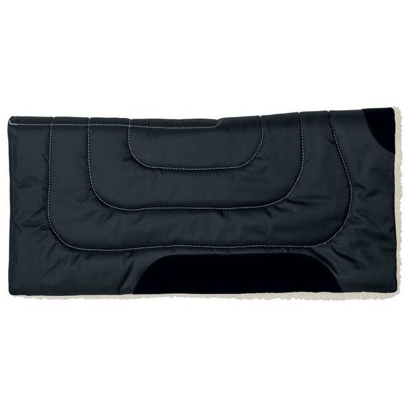 Black Economy Work Saddle Pad