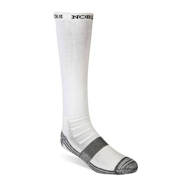 White Best Dang Over the Calf Boot Socks