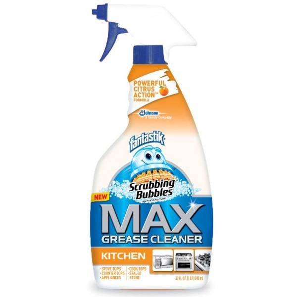Fantastik Scrubbing Bubbles Max Kitchen Grease Cleaner
