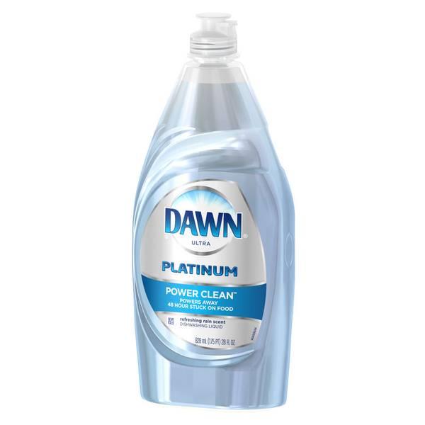 Platinum Power Clean Refreshing Rain Dishwashing Liquid