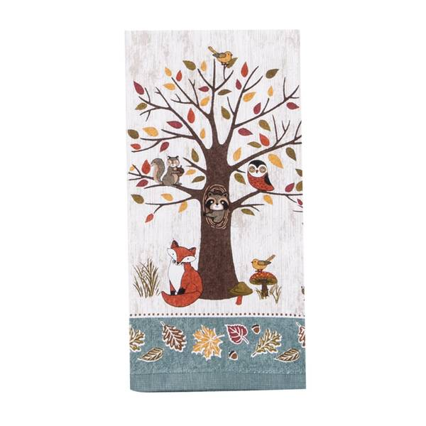 kay dee designs woodland creatures terry towel. Black Bedroom Furniture Sets. Home Design Ideas