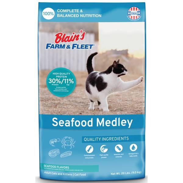 Seafood Flavor Medley Cat Food