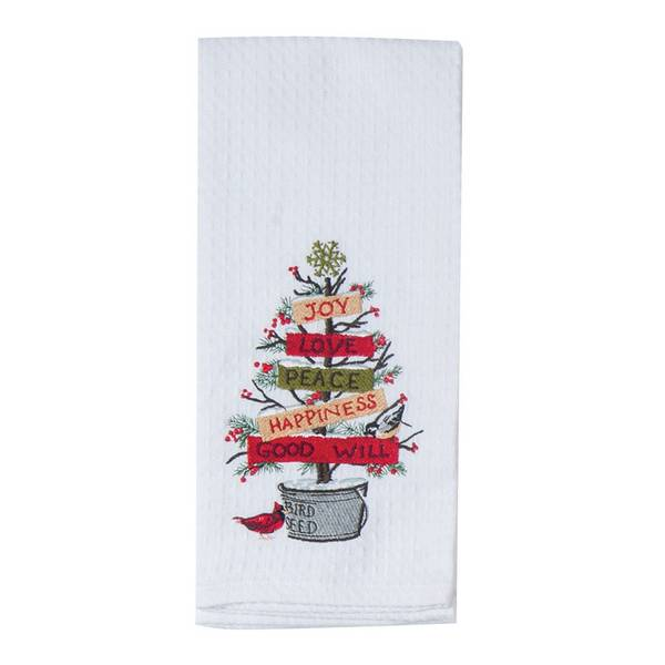 Kay dee designs winter garden waffle towel Kay dee designs kitchen towels