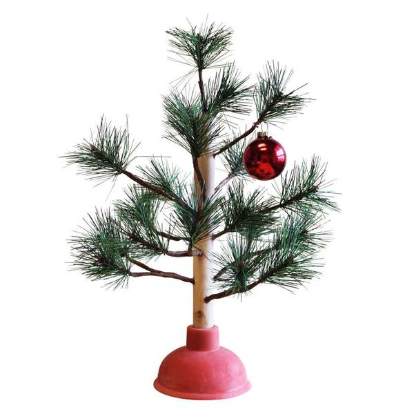 Productworks Decorative Plunger Tree
