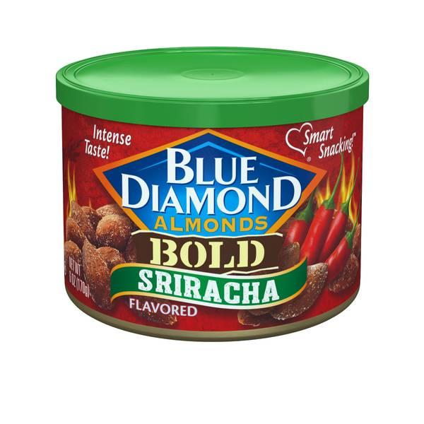 Bold Sriracha Almonds