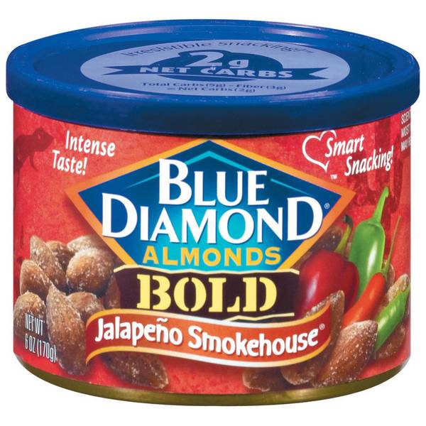 Bold Jalapeno Smokehouse Almonds