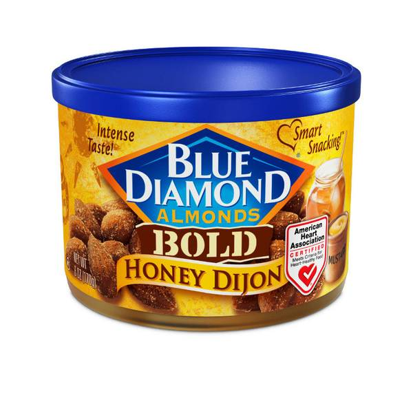 Bold Honey Dijon Almonds