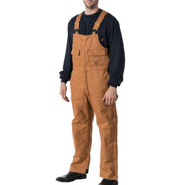 Men's Zero Zone Keller Mid Weight Duck Insulated Bib Overalls