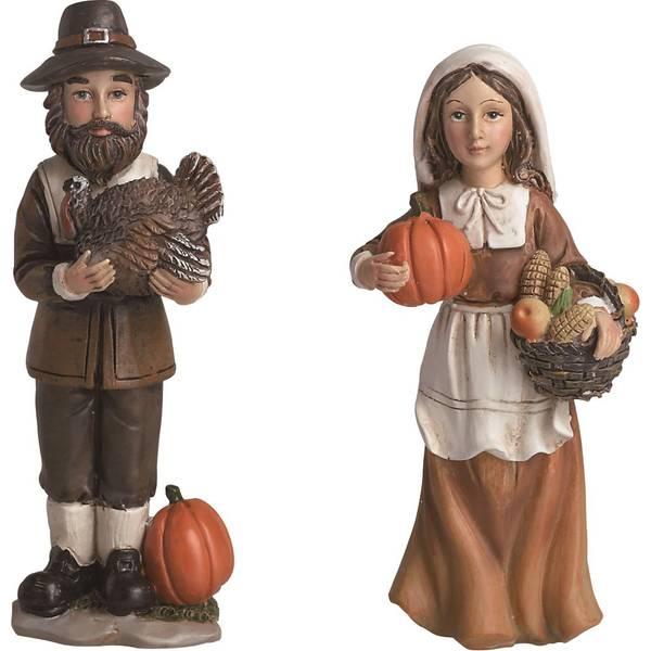Resin Pilgrim Figure Assortment