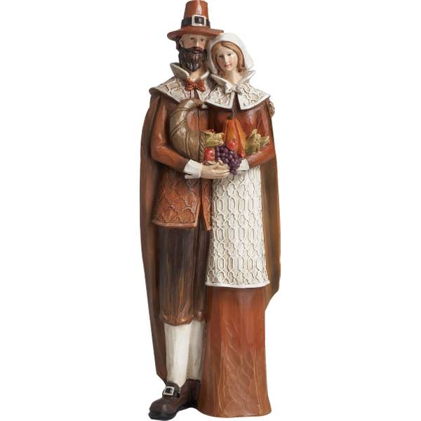 Resin Pilgrim Couple