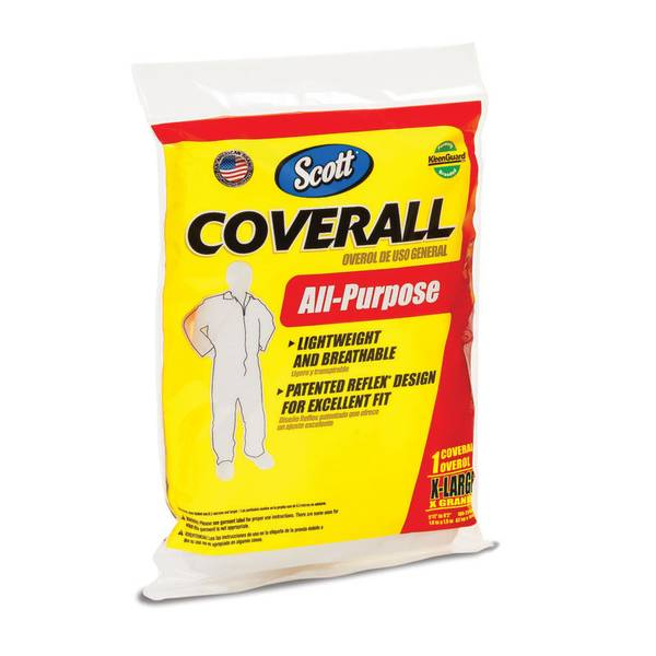 Disposable Fabric All-Purpose Coverall