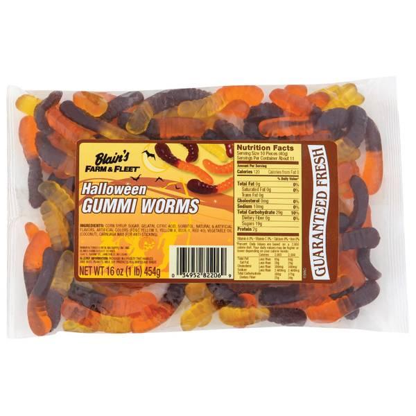 Halloween Gummi Worms