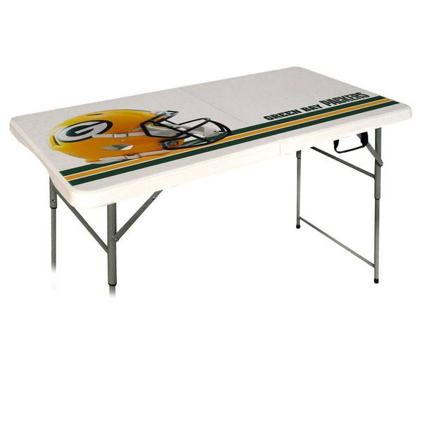 NFL Green Bay Packers 4' Folding Table