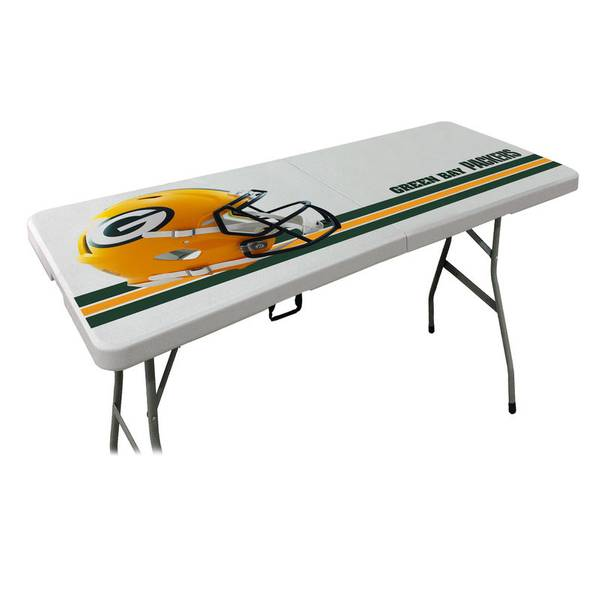NFL Green Bay Packers 6' Folding Table