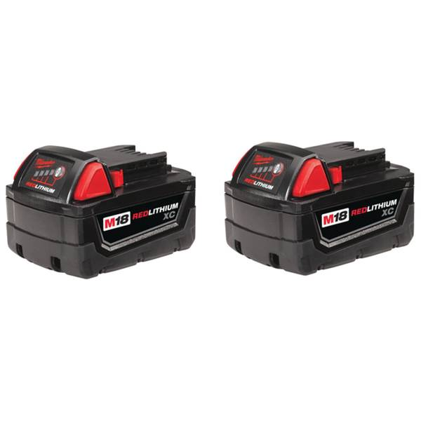 Redlithium High Capacity Battery Two Pack