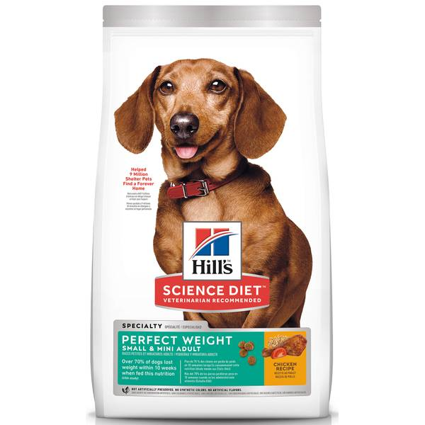 Adult Perfect Weight Small & Toy Breed Dry Dog Food