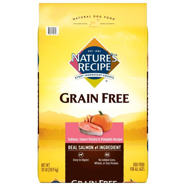 Grain Free Salmon, Sweet Potato & Pumpkin Dry Dog Food