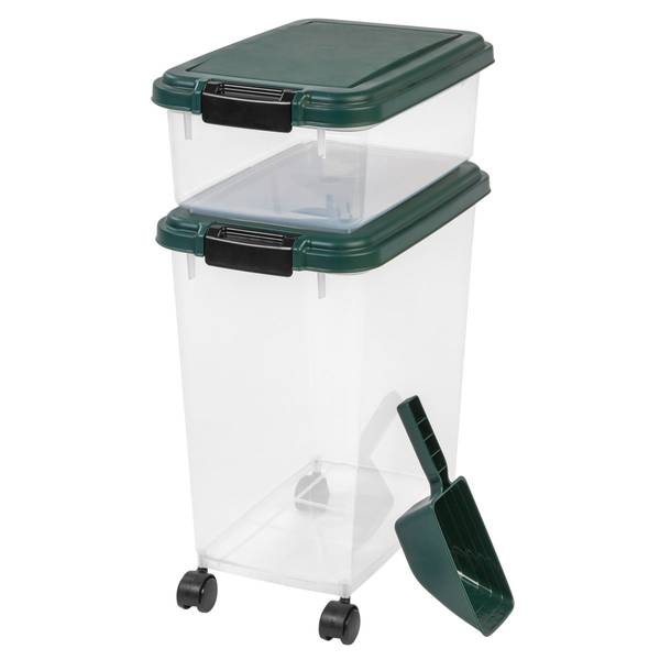 Airtight Pet Food Container Combo