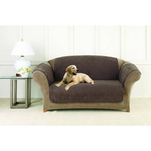 Loveseat Pet Cover With Non-Skid Back