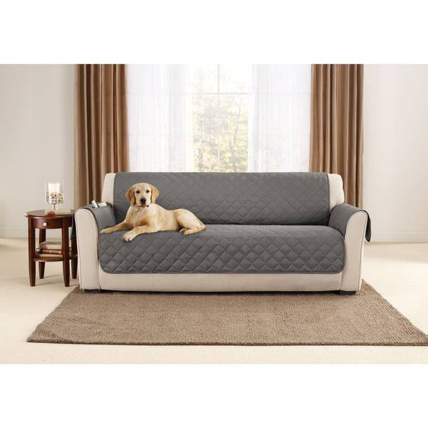 Sure Fit Sofa Pet Cover With Non Skid Back Assortment