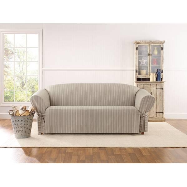 Bon Grain Sack Stripe Sofa Cover