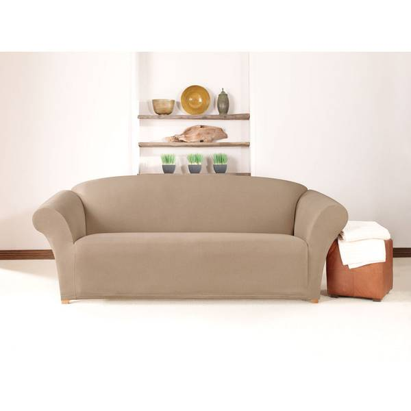 Stretch Twill Sofa Cover