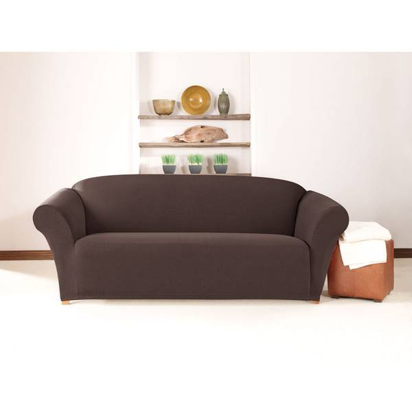Sure Fit Stretch Twill Sofa Cover
