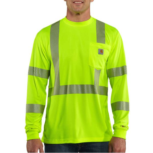 Men's Brite Lime Force High-Visibility Class 3 T-Shirt