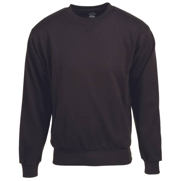 Men's  Thermal Lined Crew Sweatshirt